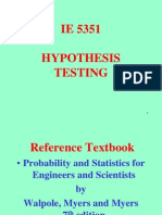 IE 5351 2006 8 Hypothesis Testing(1)