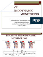 Invasive Hemodynamic for Prep and Recovery