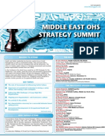 Middle East OHS Strategy Summit
