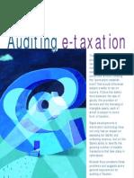Auditing e Taxation