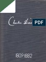 Charles Darwin - Autobiografia 1809 - 1882 (Ed. Academiei RSR - 1962)