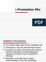 Fashion Promotion Mix 2009