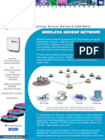 DATASHEET AutoLog Wireless Sensor Network 869MHz