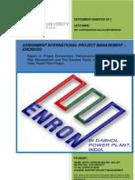 EMCM5203 Assignment - International Project Management