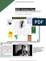 20038068 the RBG Street Scholar Melanins Paper 2011 Updated