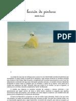 La lección de pintura - Adolfo Couve