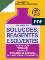 Manual de Solucoes, Reagentes e Solventes.