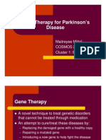 Maitreyee Mittal- Gene Therapy for Parkinson's Disease