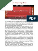 JPA Competency Model