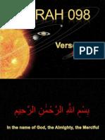 QR-244 Surah 098-001-008