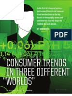 Consumer Trends In 3 Different Worlds