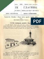 Glasnik Zemaljskog Muzeja 1910./god.22 knj.2