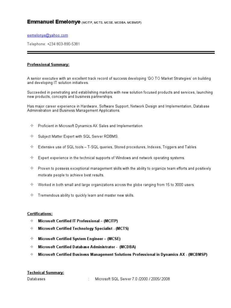 Mezie emelonye resume microsoft dynamics1 microsoft sql server mezie emelonye resume microsoft dynamics1 microsoft sql server microsoft 1betcityfo Gallery