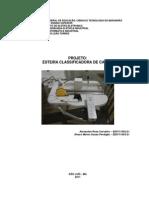 Relatório - Esteira Classificadora de Caixas