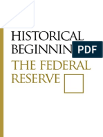 Begin of the Federal Reserve
