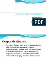 Corporate Finance New
