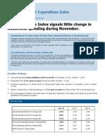 UK Expenditure Index November 2011 - FINAL 08.12.11
