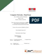 Blanc Comp Net Exam Fall 09