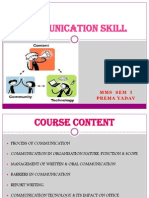 1. Process of Communication