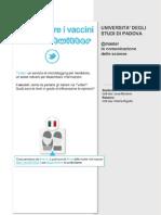 Comunicare i vaccini nell'era di Twitter