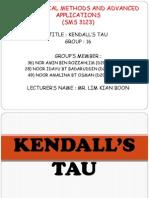 Kendall's Tau