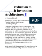 An Introduction to Implicit Invocation Architectures