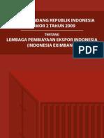 UNDANG - UNDANG LEMBAGA PEMBIAYAAN EKSPOR INDONESIA
