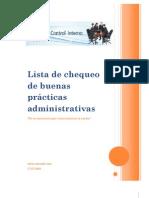 Nasaudit-Lista de Chequeo de Buenas Practicas Administrativas[1]