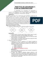 TERCERA PRÁCTICA DE SEGURIDAD Y SALUD EN LA CONSTRUCCIÓN