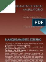 Blamqueamiento Dental Ambulatorio