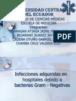 Infecciones Adquiridas en Hos Pi Tales Debido a Bacterias Gran