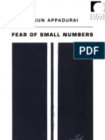 Appadurai - Fear of Smal Numbers OCR