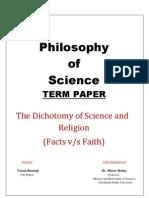Philosophy Term Paper