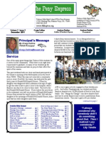 December 2011 PTSA Pony Express Newsletter