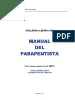 Manual Parapentista Guillermo Saez