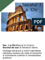 Sec I a.chr-Criza a