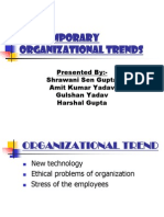 Contemporary Organizational Trends