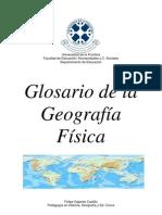 Glosario Geografia Fisica (Felipe Abdon Gajardo Castillo)