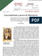 30Giorni - S Luca - Una Tradizione a Prova Di Lab Oratorio