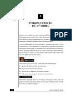 Print Journalism History