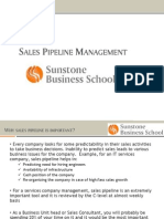 Sales Pipeline Mgmt guidelines