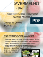 Espectroscopia No Infravermelho (IV-FT)