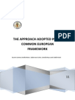 The Common European Framework Adopted the Approach_2_1