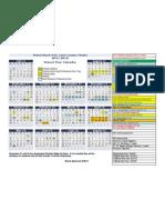 School Calendar 2011 2012