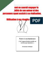 Strobo Jetables - Avertissement