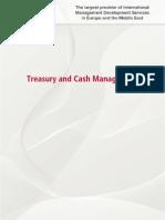 Cash and Treasury Mgt