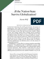 Wolf Nation State Globalization