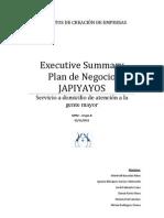 Executive Summary JAPIYAYOS
