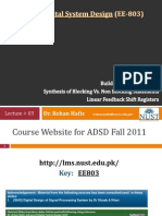 ADSD Fall2011 03 Sequential Logic Blocking Non Blocking 30Sep11