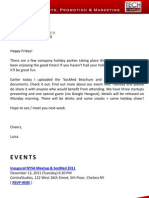 New York Silicon Alley Weekly Newsletter 09-December-2011